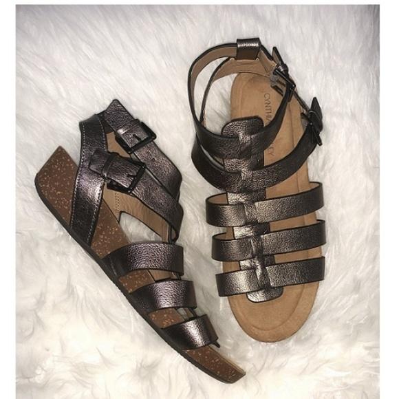 499cc231a Cynthia Rowley Shoes - Cynthia Rowley leather gladiator sandal 7.5 NWOB